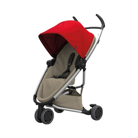 QUINNY ZAPP FLEX Buggy mit Liegefunktion  Red on Sand 1