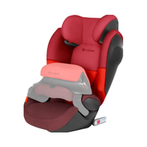 CYBEX SILVER Pallas M-Fix SL Kindersitz Design 2017  Rumba Red 3