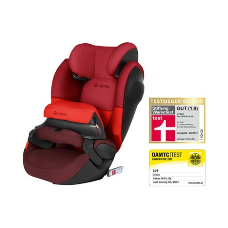 Cybex SILVER Pallas M-Fix SL Kindersitz  Rumba Red 1