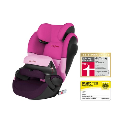 CYBEX SILVER Pallas M-Fix SL Kindersitz Design 2017  Purple Rain 1