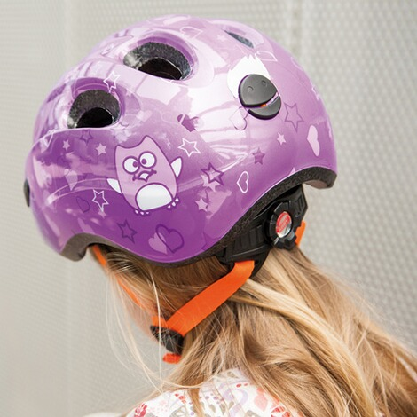 ABUS  Fahrradhelm Smiley 2.0  purple Star 7