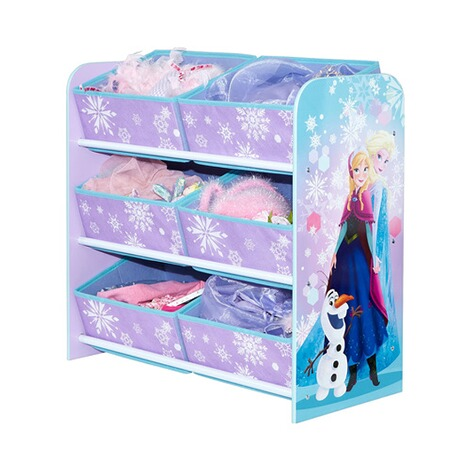 worldsapart disney frozen aufbewahrungsregal 6 boxen. Black Bedroom Furniture Sets. Home Design Ideas