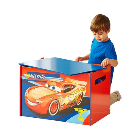 WORLDSAPART DISNEY CARS 3 Kindertruhenbank 6