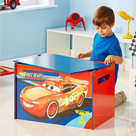 WORLDSAPART DISNEY CARS 3 Kindertruhenbank 1