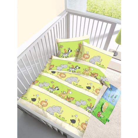 ido biber bettw sche tierfreunde 40x60 100x135 cm online kaufen baby walz. Black Bedroom Furniture Sets. Home Design Ideas