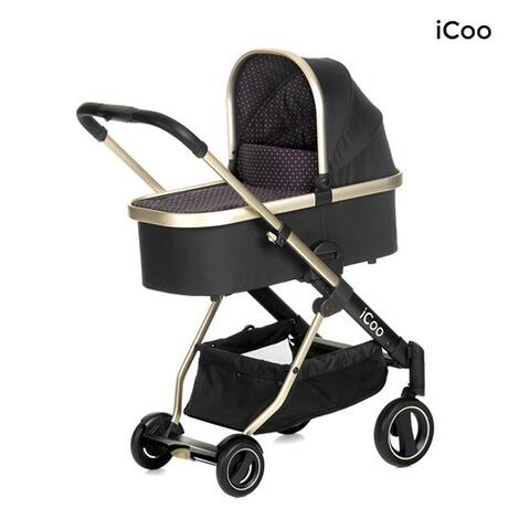 icoo acrobat xl plus kombikinderwagen trio set incl led beleuchtung online kaufen baby walz. Black Bedroom Furniture Sets. Home Design Ideas