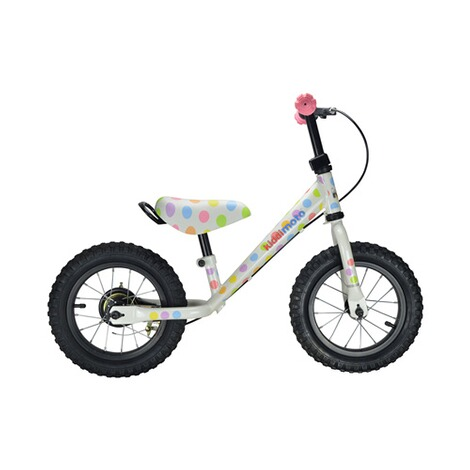 KIDDIMOTO  Laufrad Super Junior Max aus Metall  pastel dotty 2
