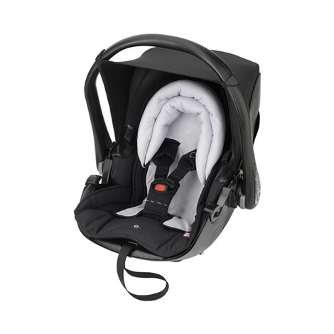 kiddy  Frühcheneinlage für Babyschale Evoluna i-Size, Evolunafix, Evolution Pro, Evolution Pro 2  sky grey 2