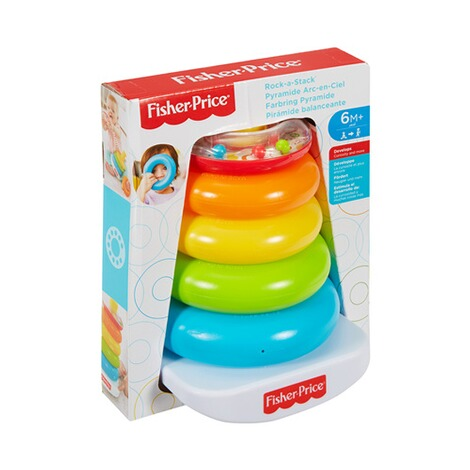 Fisher-Price  Farbring Pyramide 4
