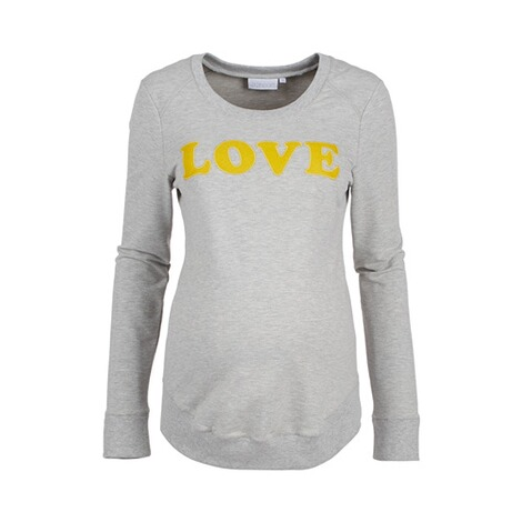 2HEARTS  Umstands-Pullover LOVE 1