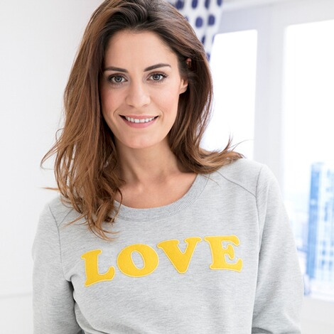 2HEARTS  Umstands-Pullover LOVE 5