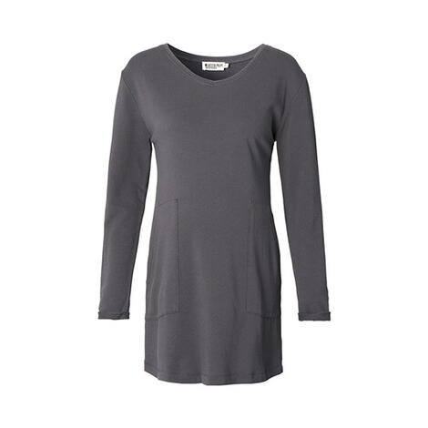 QUEEN MUM  Umstands-Tunika Carine Sweat  dark grey 1