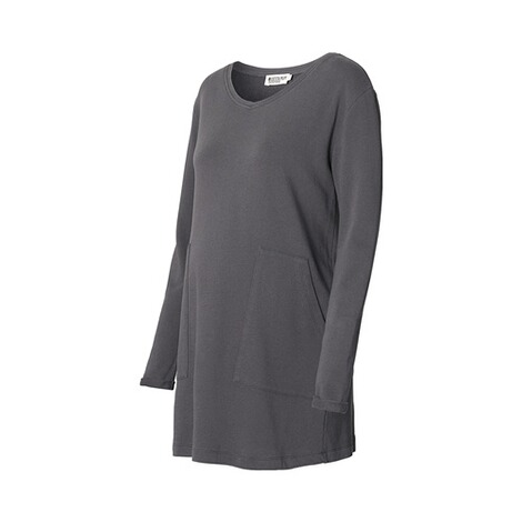 QUEEN MUM  Umstands-Tunika Carine Sweat  dark grey 2