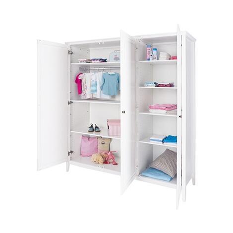 pinolino kleiderschrank smilla gro online kaufen baby walz. Black Bedroom Furniture Sets. Home Design Ideas