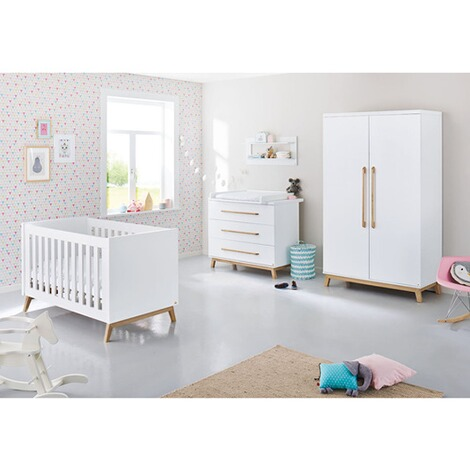 pinolino 3 tlg babyzimmer riva breit online kaufen baby walz. Black Bedroom Furniture Sets. Home Design Ideas