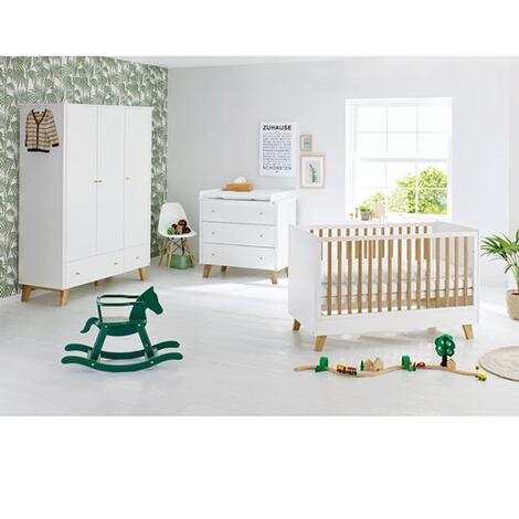 Pinolino 3 tlg babyzimmer pan breit gro online kaufen baby walz - Pinolino babyzimmer ...