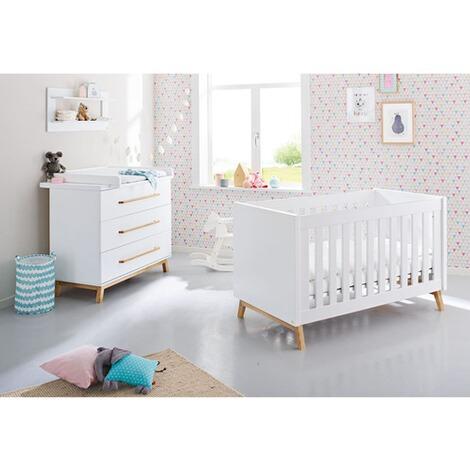 2-tlg. Babyzimmer Riva breit