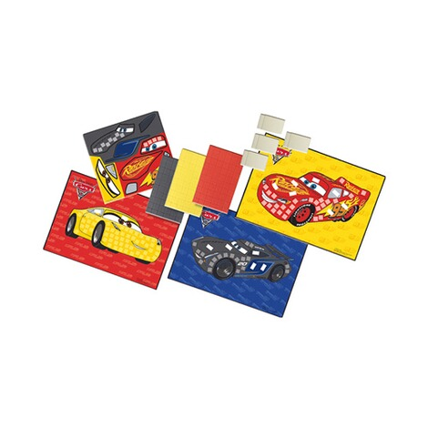 SES DISNEY CARS 3 Mosaike legen 2