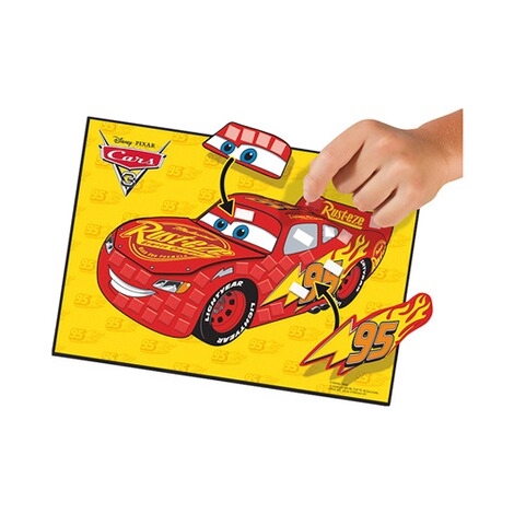 SES DISNEY CARS 3 Mosaike legen 3