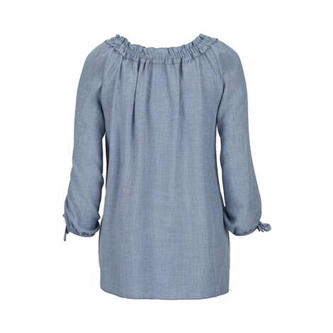 2HEARTS  Umstands- und Still-Bluse  denim blue 3
