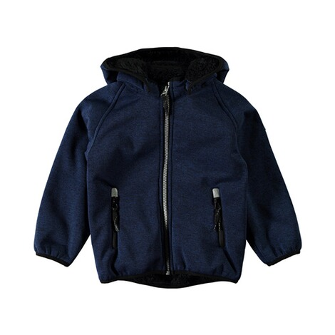 NAME IT  Softshelljacke Teddy Beta  dunkelblau 1