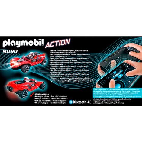 Playmobil® ACTION 9090 RC-Rocket-Racer 3