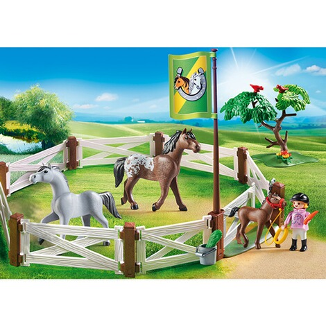 PLAYMOBIL® COUNTRY 6931 Pferdekoppel 3