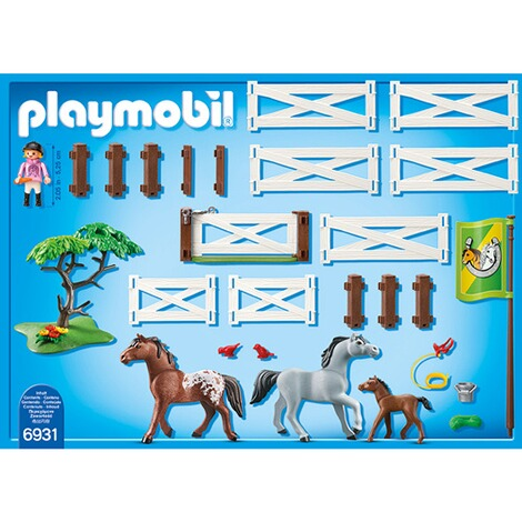 PLAYMOBIL® COUNTRY 6931 Pferdekoppel 4