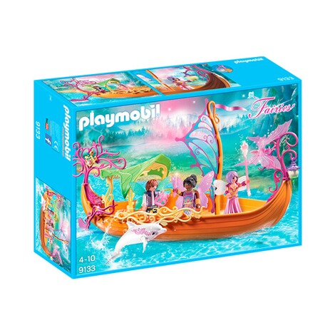 PLAYMOBIL® FAIRIES 9133 Romantisches Feenschiff 1