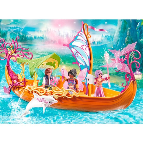PLAYMOBIL® FAIRIES 9133 Romantisches Feenschiff 3