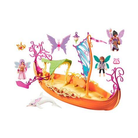PLAYMOBIL® FAIRIES 9133 Romantisches Feenschiff 2
