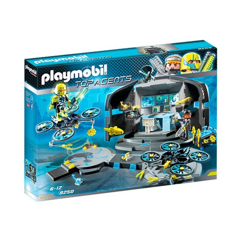 PLAYMOBIL® TOP AGENTS 9250 Dr. Drone's Command Center 1
