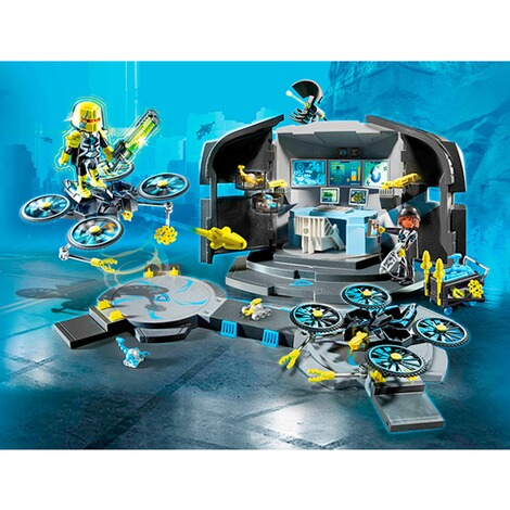 PLAYMOBIL® TOP AGENTS 9250 Dr. Drone's Command Center 3