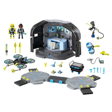 PLAYMOBIL® TOP AGENTS 9250 Dr. Drone's Command Center 2