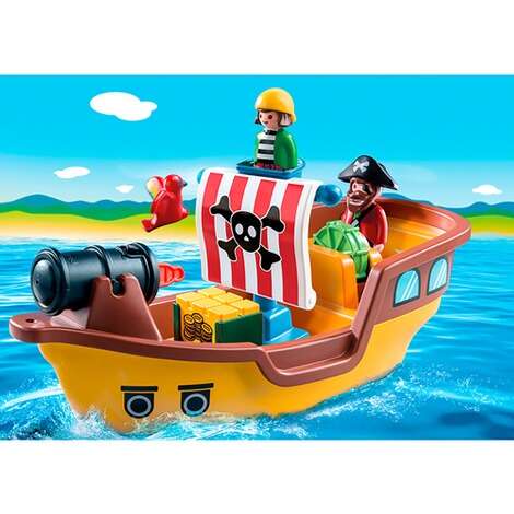 PLAYMOBIL® 1.2.3 9118 Piratenschiff 3