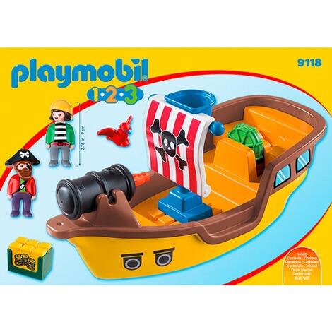 PLAYMOBIL® 1.2.3 9118 Piratenschiff 4