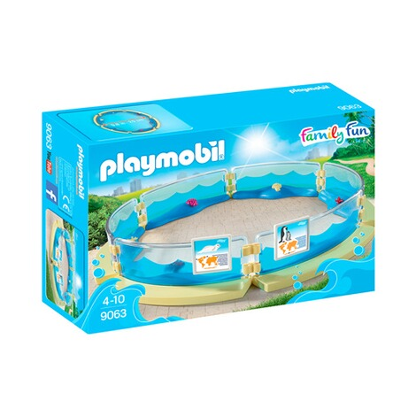 Playmobil® FAMILY FUN 9063 Meerestierbecken 1