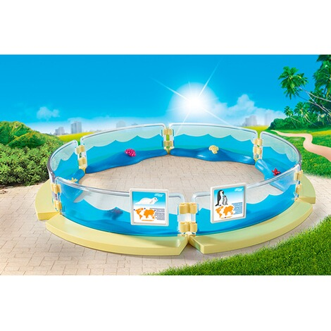 Playmobil® FAMILY FUN 9063 Meerestierbecken 2