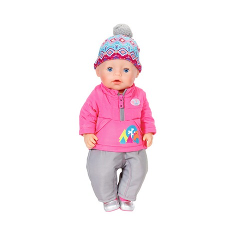 ZAPF BABY BORN Puppen Outfit Winter-Set Deluxe Play&Fun 2