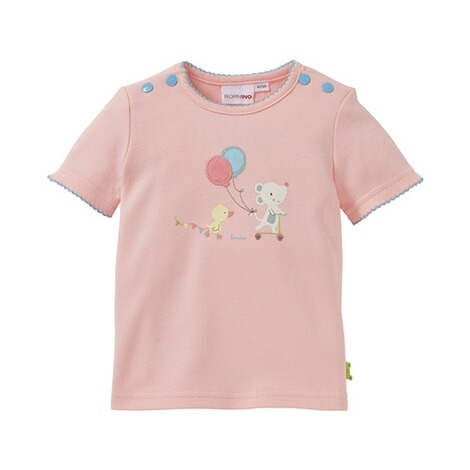 BORNINO CONFETTI ANIMALS T-Shirt Maus und Ente 1