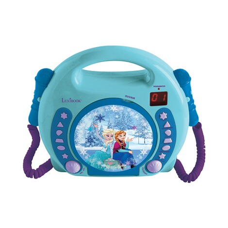 Lexibook DISNEY FROZEN CD Player mit 2 Mikrofonen 1