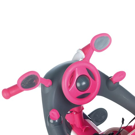 Smoby  Dreirad Baby Driver Komfort 4 in 1  pink 7