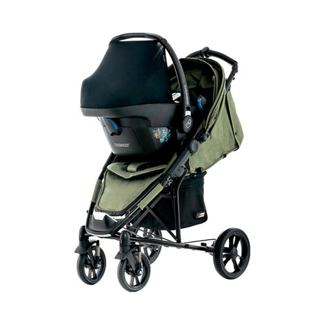 MOON CITY Buggy Flac Design 2018  olive/fishbone 5