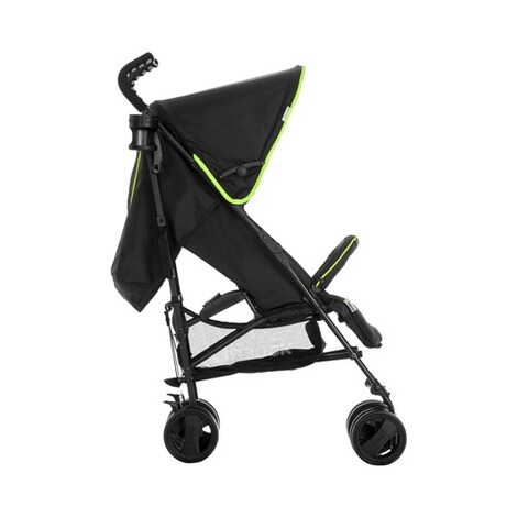 Hauck  Speed Plus S Buggy mit Liegefunktion  caviar/neon yellow 2