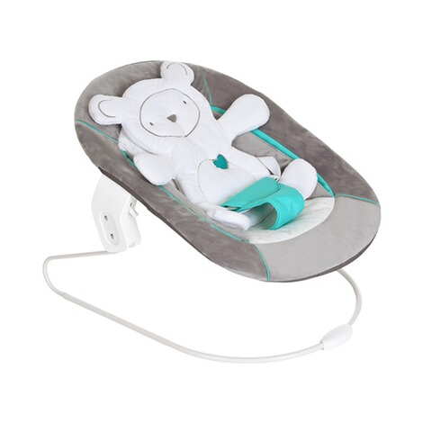 Hauck  Babywippe Alpha Bouncer 2in1  hearts grey 2