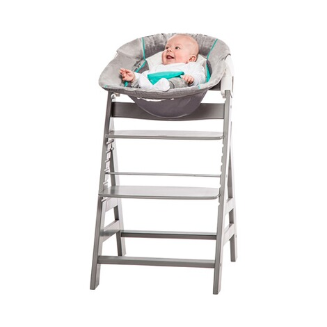 Hauck  Babywippe Alpha Bouncer 2in1  hearts grey 3