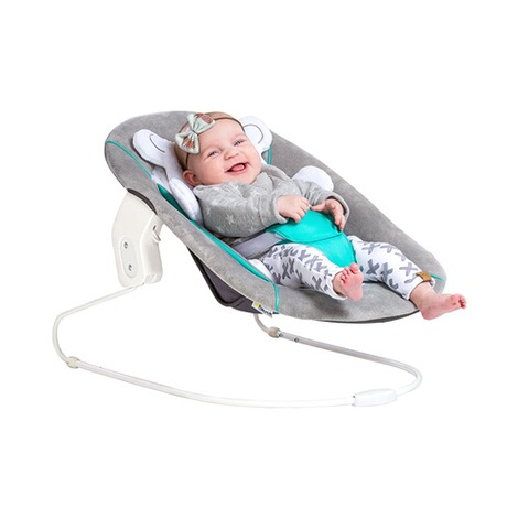Hauck  Babywippe Alpha Bouncer 2in1  hearts grey 6