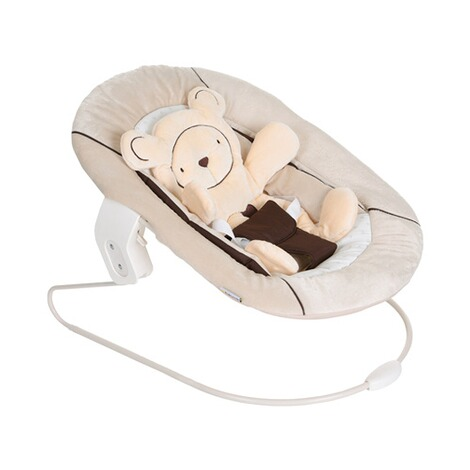 Hauck  Babywippe Alpha Bouncer 2in1  hearts beige 2