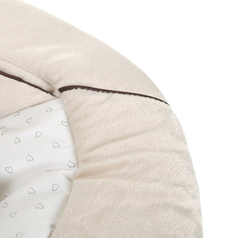 Hauck  Babywippe Alpha Bouncer 2in1  hearts beige 3