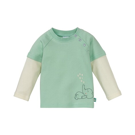 BORNINO MOUSE & ELEPHANT Shirt langarm 2in1 Elefant 1